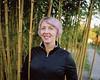 Jenni, with bamboo, in the neighborhood. (samgrover) Tags: mamiyarz67proii mediumformat film jenni kodak portra scannedprint