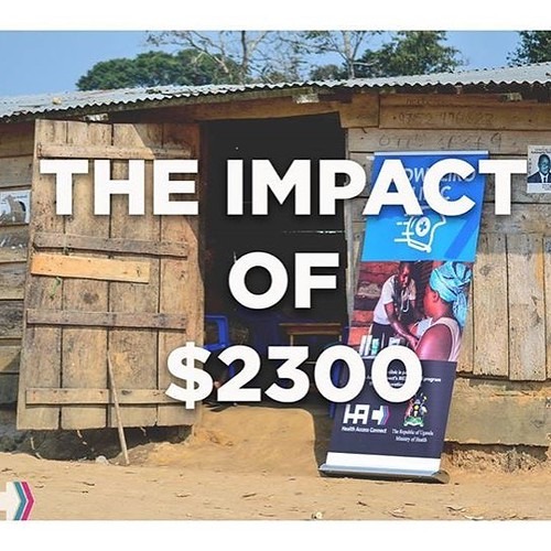 One of the many impacts of $2300 with Health Access Connect: it helps serve 3 villages with monthly clinics