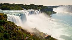 Niagara Falls Panorama (DTD_0227-30) (masinka) Tags: niagara falls river longexposure summer day daytime panorama stitch landscape photography etbtsy newyork ny nature natural wonder gorge mist