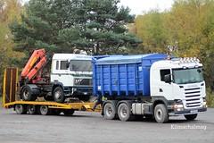 Scania R500 LK06 TNF (Kilmachalmag) Tags: morrison engineering erf gunn gunns dornoch of uig dunvegan sandy