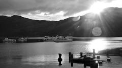 Sunrise at the Lomond (Dalis.V) Tags: lomond scotland lake lochlomond boat pier sun morning