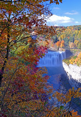 The Beauty Of Letchworth (+David+) Tags: waterfall fallcolors eastside letchworthsp