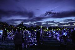 Light the night (emmagrant_) Tags: newcastle fundraiser nsw light lanterns leukaemia night photography clouds people