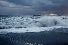_MG_3082 (photography.lenaa) Tags: blacksandbeach beach stone black water sea ocean blue sun iceland