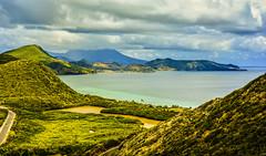 Landscape Basseterre, St.Kitts. (ost_jean) Tags: basseterre stkitts nikon d5200 350 mm f18 caribbean ostjean sea zee lamer wow gebergte montagne colors