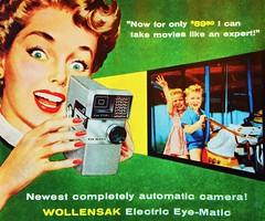 1950s Wollensak Camera Ad (Christian Montone) Tags: ads advertising vintageads adverts vintage print printads 1950s midcentury
