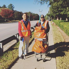 The buggy (southern for shopping cart) was a great find. Too bad we were almost done by then. #wearerotary #friends #communityservice #saturday #fun with #northraleigh #rotary #photosarebetterinfocus #badphotographer (northraleigh.rotary) Tags: square instagram stevennelson steveramirez stevennelson2016 steveramirez2016 communityservice dot roadsidecleanup roadsidecleanup2016 badphotography blury serviceprojects serviceprojects2016 adoptahighway