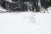 Snowman (waysofseeing) Tags: lakelouise outdoors snow victoriaglacier
