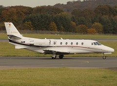 D-CGMR Cessna 560XL Citation XLS (Gerry Hill) Tags: biz bizjet business jet corporate businessjet privatejet corporatejet executivejet jetset aerospace fly flying pilot aviation airplane plane aeroplane aircraft airport apron gerry hill photograph pic picture image stock aircraftstock airplanestock aviationstock businessjetstock bizjetstock privatejetstock jetstock air transport dcgmr cessna 560xl citation xls edinburgh xl scotland turnhouse