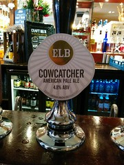 Cowcatcher - East London Brewing Company (DarloRich2009) Tags: cowcatcher eastlondonbrewingcompany eastlondonbrewing elb eastlondonbrewingcompanycowcatcher brewery beer ale camra campaignforrealale realale bitter hand pull