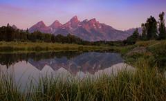 Grand Tetons - Schwabacher Landing (Kevin_Stewart) Tags: grandtetons sunrise mountains landscapephotography