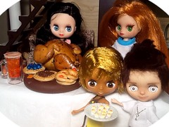 """Blythe-a-Day November#24: Thanksgiving Dinner: """"You're Right on Time!"""""""