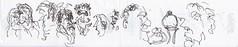 Beim Italiener: Haben Sie meinen Prosecco gesehen! (raumoberbayern) Tags: sketchbook skizzenbuch tram munich münchen bus strasenbahn pencil bleistift ballpoint paper papier robbbilder stadt city landschaft landscape spring frühling summer sommer lake trip bavaria germany airport nürnberg italiener kugelschreiber ristorante gennaro