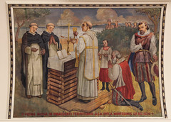The First Thanksgiving (Lawrence OP) Tags: eucharist holy mass elevation baltimore stcasimirs painting dominicans montesino