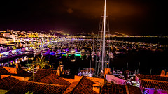 Marina de Puerto Bans (pepoexpress - A few million thanks!) Tags: nikon nikond600 nikond60024120mmf4 d61024120mmf4 d610 nikond610 24120mmafs pepoexpress puertobans marbella costadelsol night nightphotography sea boats skylinearchitecture skyline