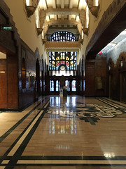 Marine Building Lobby (entheos_fog) Tags: vancouver downtown marinebuilding