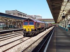 66027 at newport (47604) Tags: steel newport freight class66 66027