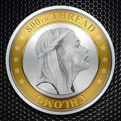 Chlomo 800th Thread Coin (oskar_umbrellas) Tags: coin moretz chloemoretz chlomoretz chloegracemoretz chloegmoretz chlogracemoretz