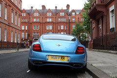 Bentley Continental Supersports Coup (R_Simmerman Photography) Tags: blue london june spring continental mayfair bentley coup supercars supersports 2015 sportcars londoncars knightbridge carsoflondon