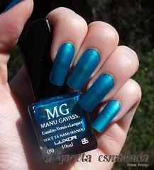 Esmalte Você Tá Namorando, da Manu Gavassi (Luxor) (A Garota Esmaltada) Tags: blue azul nails nailpolish luxor unhas turquesa metálico esmaltes cintilante manugavassi agarotaesmaltada vocêtánamorando