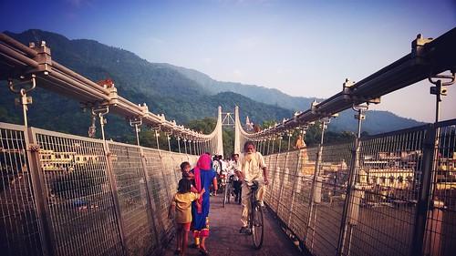 Lakshaman Jhoola, Haridwar, India