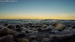 Pebbles (Koustubh Kulkarni) Tags: wisconsin landscape pebbles michiganlake gopro