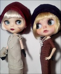 Toy-in-the-Frame Thursday: Daisy Buchanan & Maisie Go to Lunch
