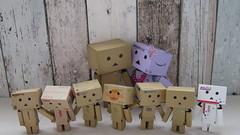 Le petit nouveau !  The new one ! (mmarple62) Tags: toy actionfigure japanese jouet yotsuba danbo danboard
