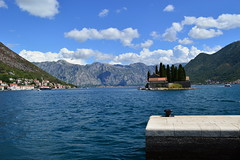 bay of kotor, montenegro (tasbraidwood) Tags: sea summer water island bay scenery view montenegro kotor