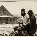 Paseando en camello por Gizah, Egipto
