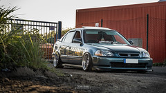 Civic Limo (DeSined Pictures) Tags: red honda civic shooting tuning jdm stancenation