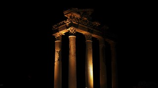SIDE Ancient City - Apollon Temple