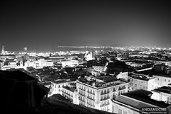 Palermo Skyline from the Roof of Teatro Massimo @ Sicily (Italy)