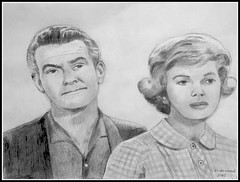 Hugh Beaumont & Barbara Billingsley (Ward & June Cleaver - Pencil Drawing by STEVEN CHATEAUNEUF 2015 (snc145) Tags: friends detail art pencil portraits fun blackwhite tv artwork faces fineart fame actress actor celebrities sitcom pencildrawing the50s shading autofocus 2015 leaveittobeaver junecleaver classictv barbarabillingsley hughbeaumont wardcleaver flickrunitedaward stevenchateauneuf