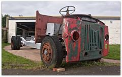 BMMO Leyland Chassis (zweiblumen) Tags: uk england bus birmingham restoration worcestershire wreck hdr leyland transportmuseum polariser wythall midlandred canoneos50d bmmo zweiblumen