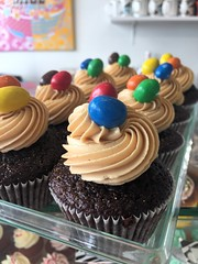 Lucky Star (chocolate-peanut butter) cupcakes: The Original!