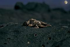 feeding my soul ((MALMO)) Tags: portrait moon night nude bokeh maternity brestfeeding
