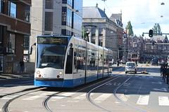 Lijn 13 -> Centraal Station (AMSfreak17) Tags: world holland public netherlands amsterdam canon traffic transport nederland siemens tram railway transportation 13g trams gvb ov the amsterdamse combino vervoer 2150 openbaar 70d 14g gemeentelijk of vervoerbedrijf amsfreak17