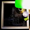 Tom's Mill (Frizztext) Tags: mill chalk video kid education child guitar drawing interior blues grandson harp blackboard frizztext