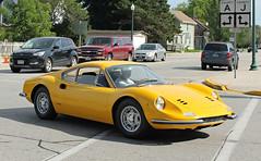 Dino 246 GT (SPV Automotive) Tags: classic sports car yellow dino ferrari exotic gt coupe 246