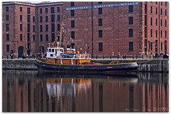 Brocklebank HDR (zweiblumen) Tags: uk england liverpool tug hdr albertdock merseyside polariser brocklebank canoneos50d zweiblumen