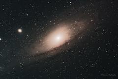 The Andromeda Galaxy 1.11.15 (Damien Weatherley) Tags: sky night stars space andromeda galaxy astrophotography m31 astronomy universe astrometrydotnet:status=solved astrometrydotnet:id=nova1305338