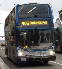 Community Transit 2015 Alexander Dennis Enviro 500 15802 (zargoman) Tags: seattle travel bus community transportation transit commuter 500 doubledecker enviro snohomish e500 communitytransit alexanderdennis doubletall