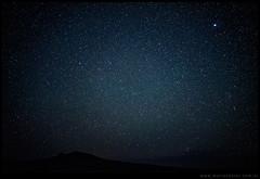 Volcán Macoyó y las estrellas