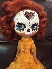 Calavera girl - kind of an impulse buy