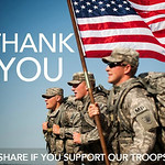 support our troops, From FlickrPhotos