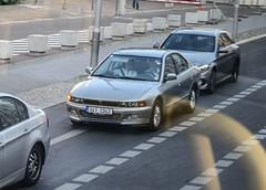 Czech Rep. Diplomatic - Mitsubishi Galant (PrincepsLS) Tags: berlin germany republic czech plate license mitsubishi spotting galant diplomatic