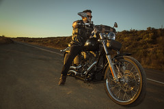John/Harley Davidson. (DP@Makers Creative Studio.) Tags: california road sunset lake canon photography chopper photoshoot sandiego roadtrip harleydavidson moto motorcycle ontheroad motocicleta 6d nighttrain roadlife eos6d canon6d photoshopcs6