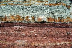 Wanakah Formation (Middle Jurassic; roadcut near Artists Point, Colorado National Monument, Colorado, USA) 2 (James St. John) Tags: monument point marine sandstone colorado formation national artists jurassic shale marginal roadcut siltstone mudstone wanakah mudshale