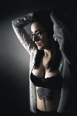 Mandy (PetterZenrod) Tags: light tattoo